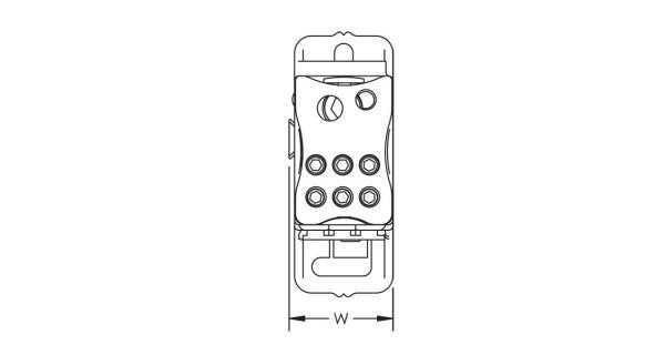 Repartiteur unipolaire 125A