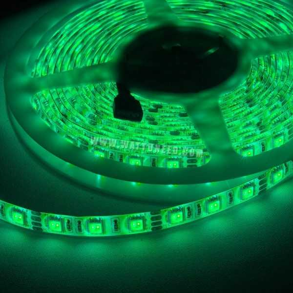 Flex LED strip colorbright 5050 RGB  power supply included