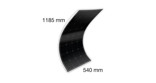 MX FLEX Solar Panel Full Black 100Wp