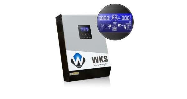 WKS Plus 3kVA 48V hybrid inverter