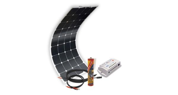 Off-grid solar kit MX Flex Protect 100Wp - regulator