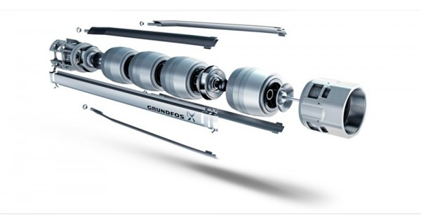 Immersed pump Grundfos SP 2A