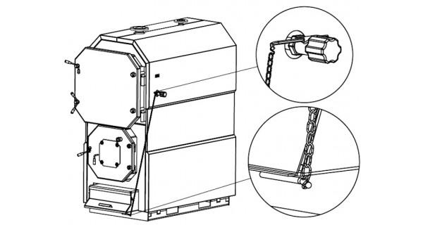 Solid fuel boiler (biomass) BURNiT WBS Magna