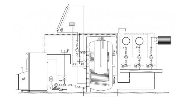 Chaudière à granulés (biomasse) BURNiT PelleBurn 15 à 40kW
