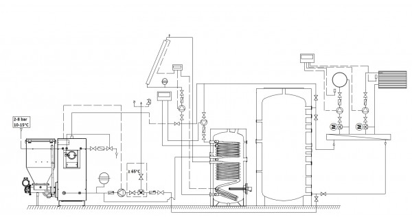 Combined boiler BURNiT UB 27kW to 90kW