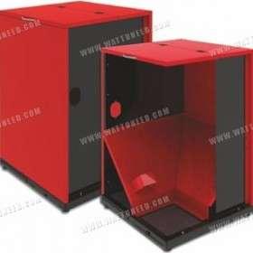 Fuel hopper for BURNiT boiler 300 or 500L