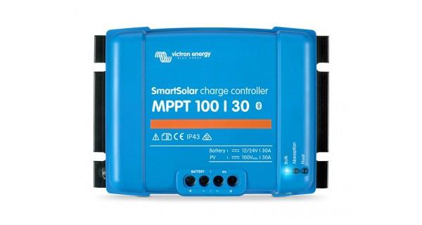 Victron SmartSolar 100/30 - 100/50 12/24V MPPT Controller