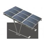 Carport photovoltaïque simple