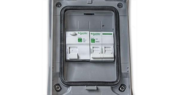 Coffret de protection AC 230V monophasé