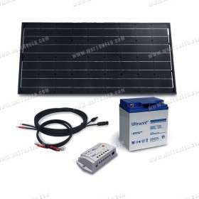 Solar kit 100Wp - 35Ah - 12V