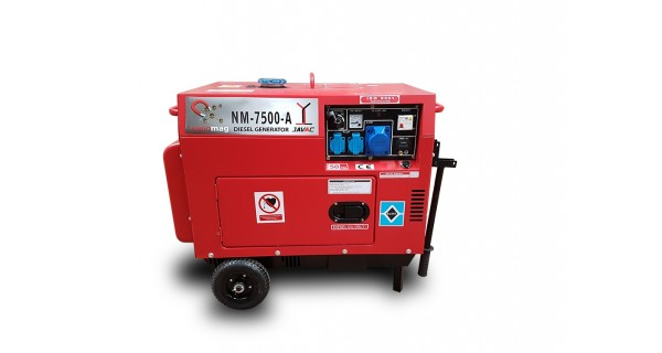 Kit NanoMag 3000 tpm - 6 KW with automatic start system