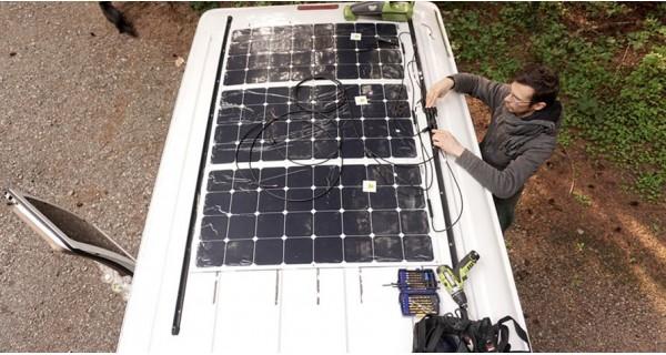 Solar kit motorhome & boat L-SIZE- configurable