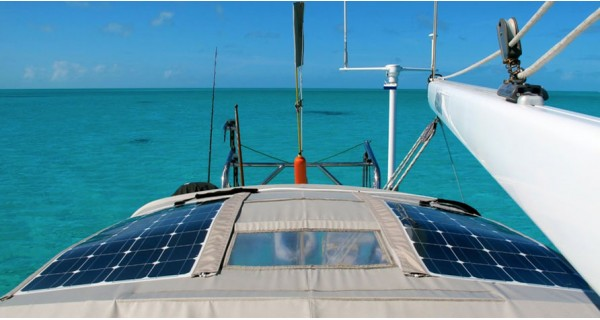 Solar kit motorhome & boat M-SIZE - configurable
