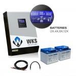 Kit anti-coupure WKS 1 kVA 24V