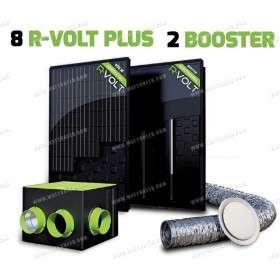 Kit aérovoltaïque R-VOLT PLUS 10 panneaux