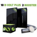 Kit aérovoltaïque R-VOLT PLUS 12 panneaux