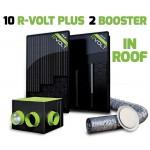 Kit aérovoltaïque R-VOLT PLUS 12 panneaux IN-ROOF