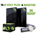 Kit aérovoltaïque R-VOLT PLUS 18 panneaux IN-ROOF
