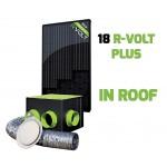 Kit aérovoltaïque R-VOLT PLUS 18 panneaux sans booster IN-ROOF
