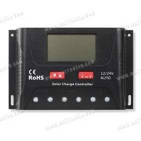 Régulateur solaire SRNE PWM HP 24V 30A