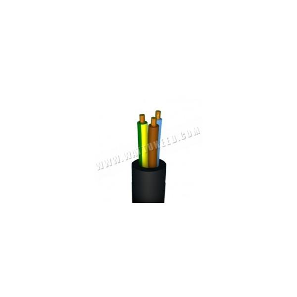 C ble lectrique xvb 3g6 1m pour les installations for Diametre exterieur cable electrique