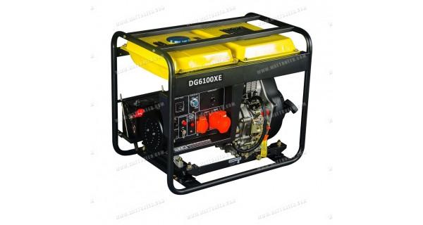 Generator 5,5kW mono DG-6100XE