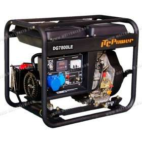 Generator 6,5kW mono DG-7800LE