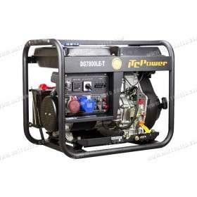 Generator 6kW / 7kVA dual voltage with ATS DG-7800LE-T