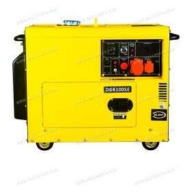 Soundproof 5.5kW mono generator DG-6100SE