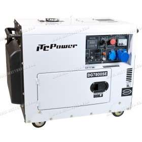 Soundproof generator 6,5kW mono with ATS DG-7800SE