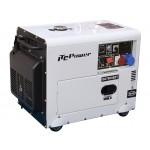 Groupe électrogène bi-tension insonorisé 6kW / 7kVA avec ATS DG-7800SE-T