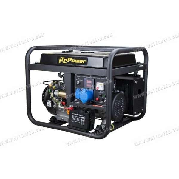Generator 7 1kkw Mono Dry Contact Gg9000le