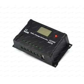 Régulateur solaire SRNE PWM HP 24V 20A