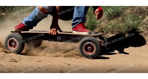 Skateboard électrique Evo Cross 1000 V3 Brushless