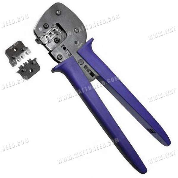 Crimping pliers for MC4 connectors for solar panel cable