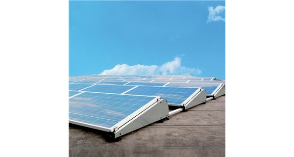 Structure for solar panel installation