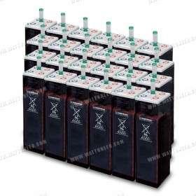 Parc de 201 kWh batteries OPzS 720V ou 2x360V