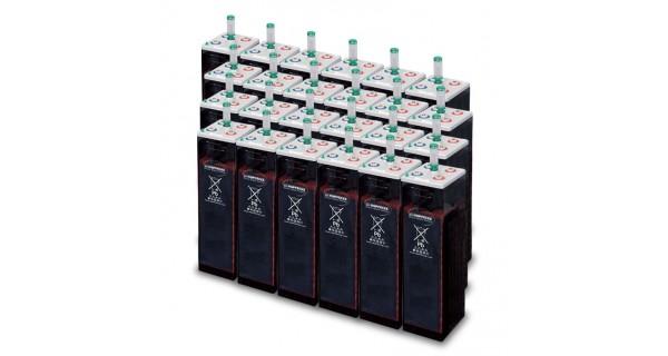 Parc de 120 kWh batterie OPzS 48V