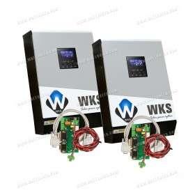 WKS 10kVA 48V hybrid inverters + 2 Communication kits