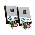 Onduleurs hybrides WKS 10kVA 48V + 2 kits communication