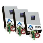 Onduleurs hybrides WKS 15kVA 48V + 3 kits communication