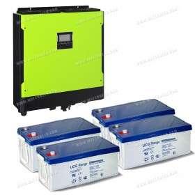 Kit EVOLUTION stockage et réinjection réseau multisolar E 5kVA
