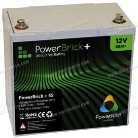 Batterie lithium PowerBrick+ 12V 55Ah