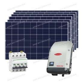 Kit 30 panels self-consumption / reinjection sort 15kW without storage