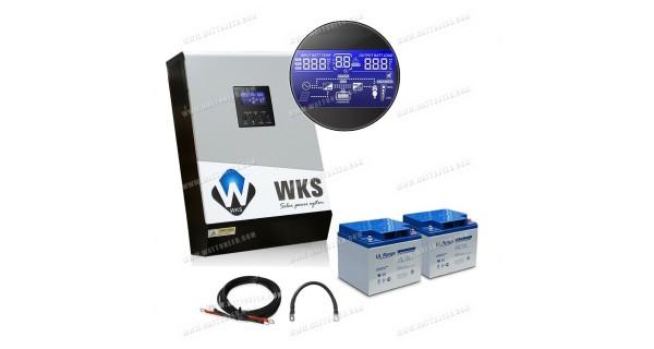 Uninterruptible power supply WKS 1 kVA 24V