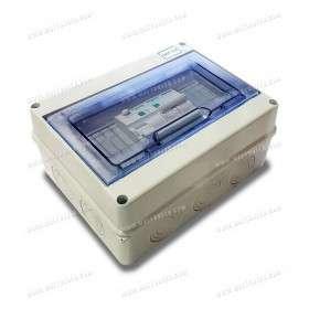 Coffret de protection AC 230V monophasé - 20A - 300mA