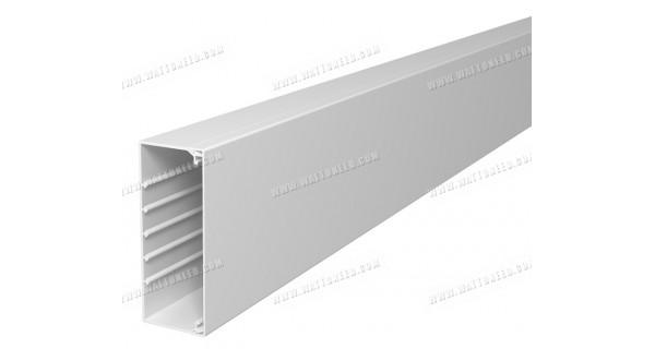 Goulotte blanche 60x150mm - longueur 2m