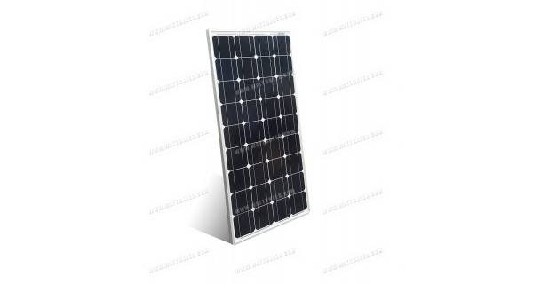 Black solar panel MX 100Wp 12V monocrystalline