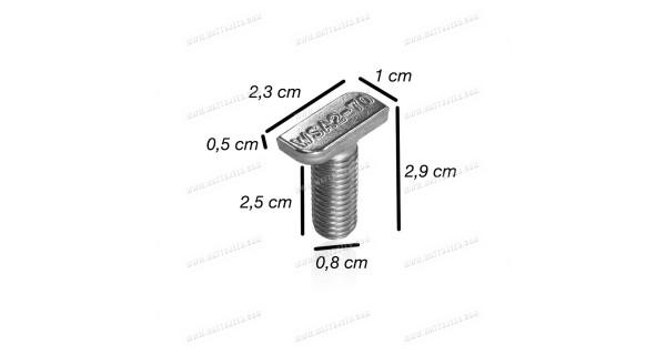 M10 stainless steel hammer head