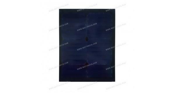 Panneau solaire 15w mono full black sans cadre